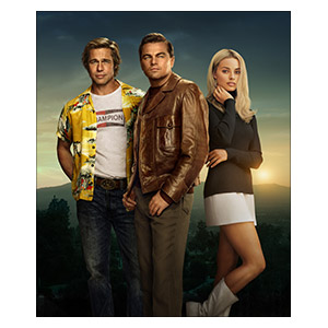 Once Upon a Time... in Hollywood. Размер: 50 х 60 см
